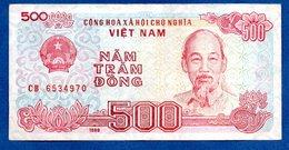 VIETNAM / 500 Dong 1988 / Pick 101 / TTB+ - Viêt-Nam