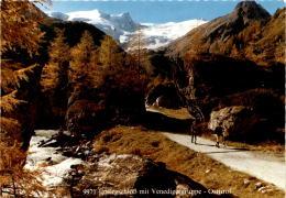 Matrei, Osttirol - Innergschlöß Mit Venedigergruppe (276) - Matrei In Osttirol