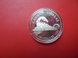 """CANADA 1$ 1986 ARGENT QUALITE """"PROOF"""" - Canada"""