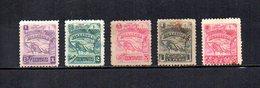Nicaragua   1896  .-  Y&T  Nº   81/83-87/88 - Nicaragua