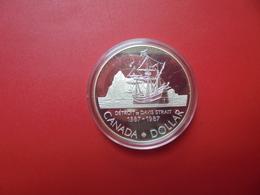 """CANADA 1$ 1987 ARGENT QUALITE """"PROOF"""" - Canada"""