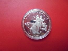 """CANADA 1$ 1990 ARGENT QUALITE """"PROOF"""" - Canada"""