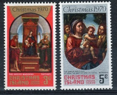 Christmas Island Set Of Stamps To Celebrate Christmas 1970. - Christmas Island