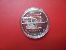 """CANADA 1$ 1991 ARGENT QUALITE """"PROOF"""" - Canada"""
