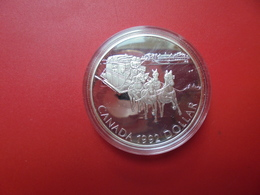 """CANADA 1$ 1992 ARGENT(925/000) QUALITE """"PROOF"""" - Canada"""