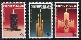 Christmas Island Set Of Stamps To Celebrate Christmas 1983. - Christmas Island