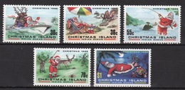 Christmas Island Set Of Stamps To Celebrate Christmas 1986. - Christmas Island