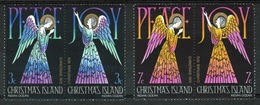 Christmas Island Set Of Stamps To Celebrate Christmas 1972. - Christmas Island