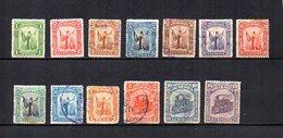 Nicaragua   1912  .-  Y&T  Nº   298/300-302-304/307-309/310-314-319/320    (  310  Falta Punta  ) - Nicaragua