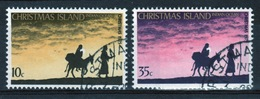 Christmas Island Set Of Stamps To Celebrate Christmas 1975. - Christmas Island