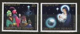 Christmas Island Set Of Stamps To Celebrate Christmas 1979. - Christmas Island