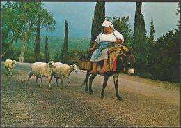 Peasant Woman, Corfu, C.1960s - Raphaelakis & Nicolaos Postcard - Greece