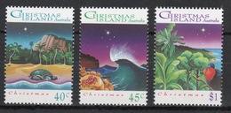 Christmas Island Set Of Stamps To Celebrate Christmas 1993. - Christmas Island