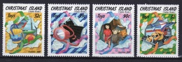 Christmas Island Set Of Stamps To Celebrate Christmas 1988. - Christmas Island