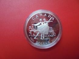"""CANADA 1$ 2001 ARGENT(925/000) QUALITE """"PROOF"""" - Canada"""