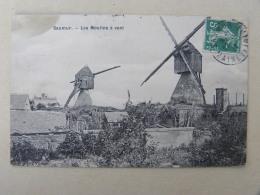 CPA (49) Maine Et Loire - SAUMUR - Les Moulins à Vent - Saumur