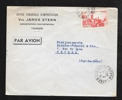 Maroc Lettre Vve James Stren Importation Tanger Le 6/6/1953 Le N° 262A    B/TB - Briefe U. Dokumente