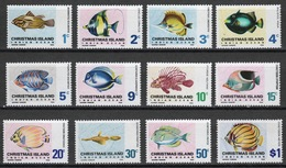 Christmas Island  Set Of Stamps To Celebrate Fish 1968.  This Set Is In Unmounted Mint Condition - Christmas Island