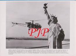 Avion - Aircraft - Photographie - FRANCE -1957 - SE Alouette - Turbine Artouste  - 240X180. - Aviation
