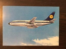 AK  AIRPLANE  LUFTHANSA BOEING 737 - 1946-....: Moderne
