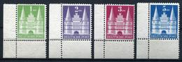 41089) ALL. BESETZUNG # 97-100 Wg Postfrisch Aus 1948, 175.- € - Bizone