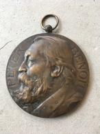Bronzen Penning: Peter Benoit (Alphonse Mauquoy 1880 - 1954) / Bestendig Festival 1923 Stad Antwerpen - Belgium