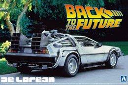 Back To The Future De Lorean 1/24 ( Aoshima ) - Cars