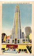 Tarjeta Postal De Rockefeller Center , New York. - New York City