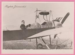 Aviation - Photographie - LEO ROTH Auf Harlan - Signé Par Le Pilote - Brrrrrr - Aviation