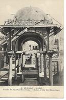 Carte Ancienne / EGYPTE / LE CAIRE / Tombe De Aly Bey Mamelouks N°48 Editeur Béhar - El Cairo