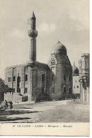 CPA / Carte Animée  / EGYPTE / LE CAIRE / Mosquée N°47 Editeur Béhar - El Cairo