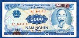 VIETNAM / Pick 108 / 5000 Dong  1991 / TB+ - Viêt-Nam