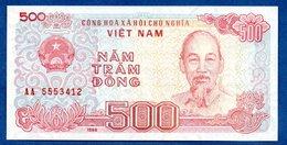 VIETNAM / Pick 101 / 500 Dong  1988 / SUP+ - Viêt-Nam