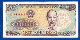 VIETNAM / Pick 106 / 1000 Dong  1988 / TB+ - Viêt-Nam