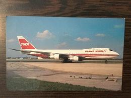 AK  AIRPLANE  TWA BOEING 747-284B - 1946-....: Moderne