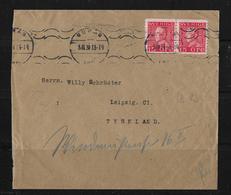 1931 Letter From Boras To Leipzig - Briefe U. Dokumente
