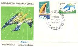 (103) Australia FDC Cover - 1975 - Papua - Premiers Jours (FDC)
