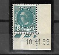 France 1933  Célèbrités  Briand    Cat Yt N° 291    N**   MNH TB - Unused Stamps