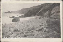 North Cliffs, Camborne, Cornwall, 1910 - Postcard - England