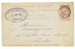 TURNHOUT: Brepols Et Dierckx Zoom 11-08-1896 (Etat Zie Scan) - Oud-Turnhout