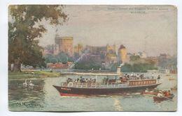 Salter's Oxford And Kingston Steamer Passing Windsor - Windsor