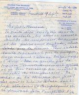 VP12.063 - Lettre Du Docteur Yves BAUDOIN à La Clinique De L'Oasis à CASABLANCA ( Maroc ) Récit - Manuscripts