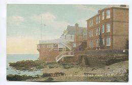 Yacht Club House (Sea View) I.O.W. - England