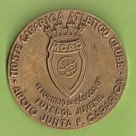 Monte Caparica - Medalha Do Atlético Clube - Costa Da Caparica - Futebol. Almada. - Other