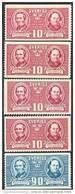 ZWEDEN 1942 100 Jaar Volksschool Serie PF-MNH - Neufs
