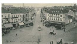 MACHELEN: Place De La Station Et Rue Conscience - Machelen