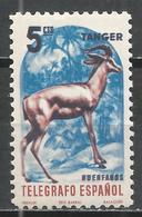 Tangier. #B (M) Telegrafo, Deer * - Télégraphe