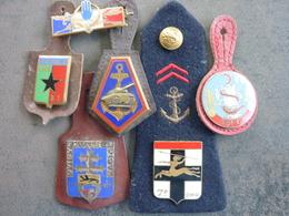 LOT INSIGNES - Militaria