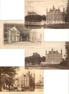 Olsene : Le Château D'Olsene ( Stanislas Piers De Raveschoot )  ---- 4 Kaarten - Zulte