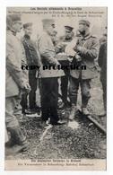 Bruxelles, Un Blesse Allemand Soigne Par La Croix Rouge A La Gare De Schaerbeek, Feldpost 1915, 51. Res. Div. - Guerre 1914-18